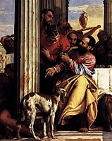 Feast in the House of Simon (detail), 1556-60, veronese