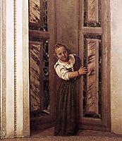 Girl in the Doorway, 1560-61, veronese