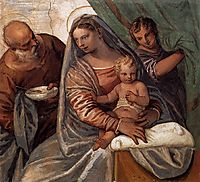 The Holy Family (Madonna della pappa), 1560-61, veronese