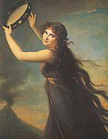 Lady Hamilton, vigeelebrun