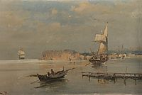 Boats in a port, volanakis