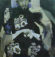 A Man in a Russian Old Style Costume, 1886, vrubel