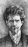 Portrait of Doctor Fiodor Usoltsev, 1904, vrubel