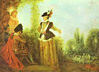The Adventuress, c.1717, watteau