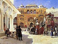 Arrival of Prince Humbert, the Rahaj, at the Palace of Amber, weeks