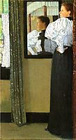 Face Reflected in a Mirror, 1896, weir