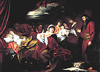 Esau and Jacob Presented to Isaac, west