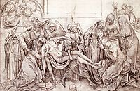 Christ carried to the Tomb, weyden