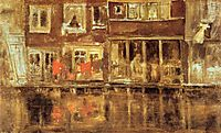 The Canal, 1889, whistler
