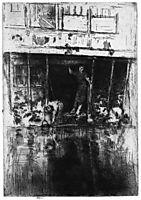 Pierrot, 1889, whistler