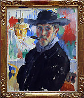 Self-portrait with Cigar, 1914, wouters