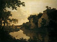 Landscape with Dale Abbey, wright