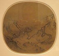 Gentleman in a Garden (traditionally attributed to Ma Yuan), yuan