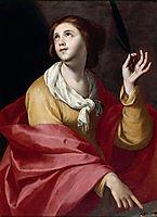 Saint Lucy, zurbaran