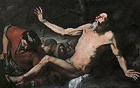 St. Bartholomew almost in agony, 1632, zurbaran